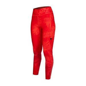 Under Armour Project Rock Printed Ankle Crop Red
